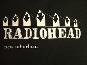New Suburbian tshirt back image